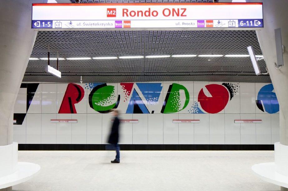 Andrzej Chołdzyński - II linia metra Rondo ONZ